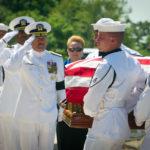 A US Navy Casket Team Entering Arlington National Cemetery | Arlington Media, Inc.