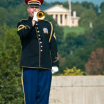 US Army Band Member on grounds that became court 9 | Arlington National Cemetery Photographers | Arlington media, inc.