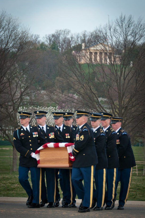 Arlington Media COVID-19 Updates | US Army Casket Arlington National Cemetery | Arlington media, inc.