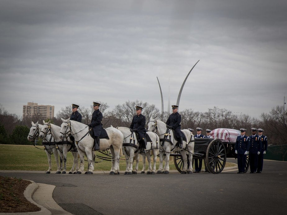 US Army Caisson at McClellan Circle | arlington cemetery funeral picture | Arlington media, inc.