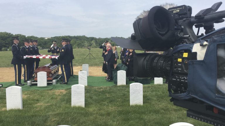 Covering a service in Section 57 with the US Army | Arlington National Cemetery | Arlington Media, Inc.