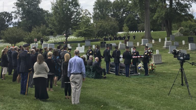 Covering an service in Arlington National Cemetery Section 6 with the US Army | Arlington Funeral Videography | Arlington Media, Inc.