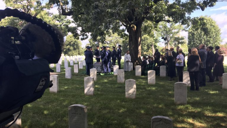 Covering a service in Arlington National Cemetery Section 20 with the US Air Force | arlington media cemetery videography | Arlington media, inc.
