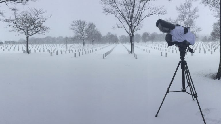 Arlington National Cemetery Section 59 In Winter | Arlington Media, Inc.