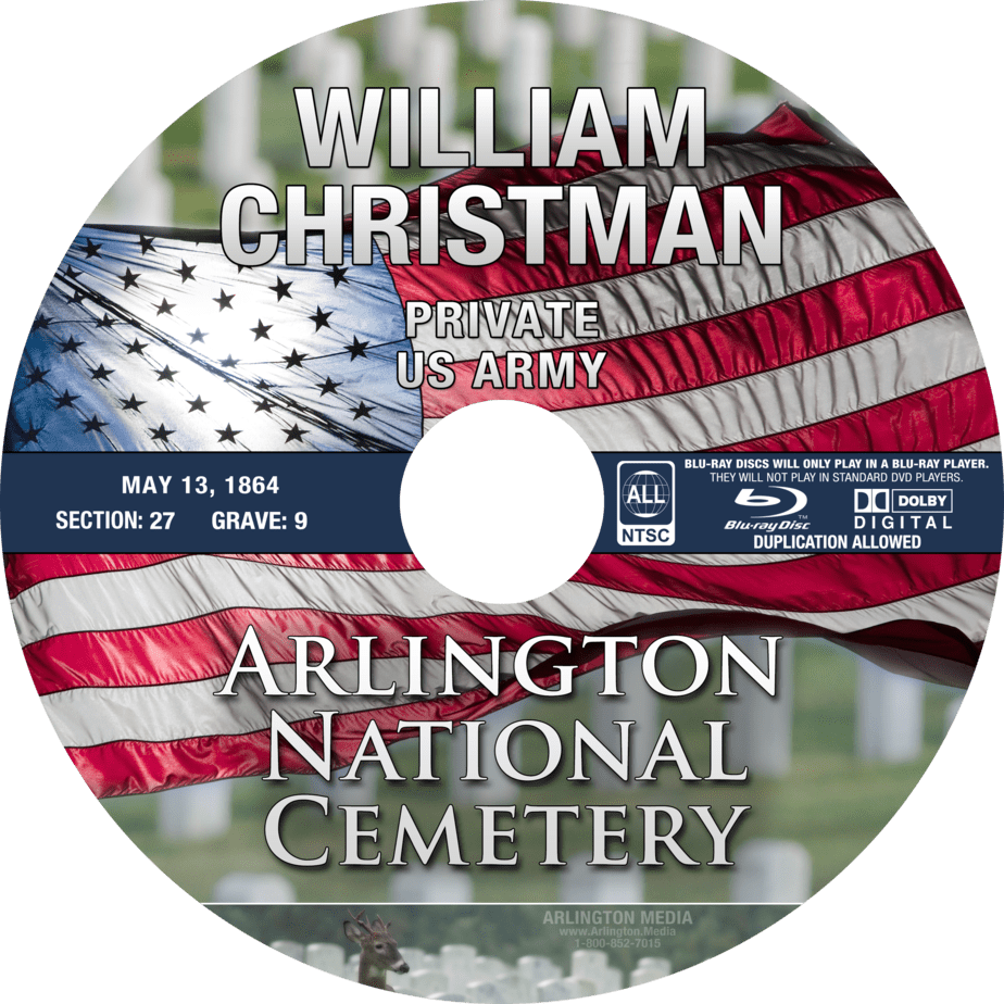 Arlington National Cemetery Blu-Ray Video DVD | Arlington Cemetery Funeral Videography | Arlington Media, inc.